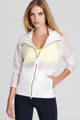 Theory 38 Jacket Soak Athletic in White - Lyst