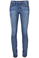 Mother Denim High Waisted Looker Jean - Lyst