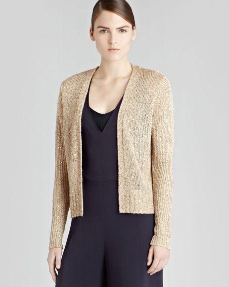 Zara Silver Sequin Cardigan 72