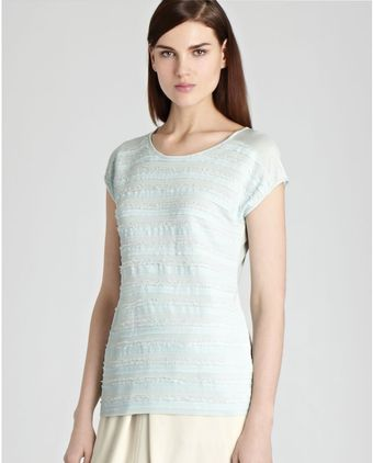 Reiss Top Elle Technique Jersey - Lyst