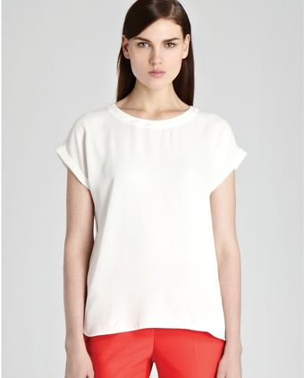 Reiss Short Sleeve Top - Lyst