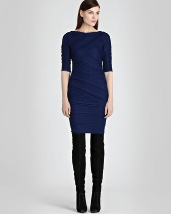 Reiss Body Con Dress Janelle Lace - Lyst