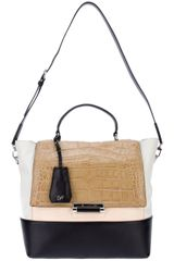 Diane Von Furstenberg 440 Top Handle Block Small Satchel - Lyst