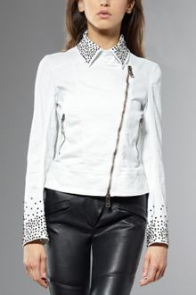 Patrizia Pepe Cotton Canvas Jacket - Lyst