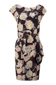 Twenty 8 Twelve Cap Sleeve Floral Dress - Lyst