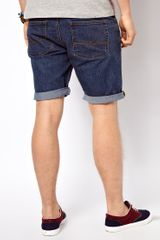 Asos Denim Shorts in Skinny Fit - Lyst
