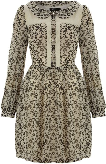 Cutie Butterfly Print Dress - Lyst