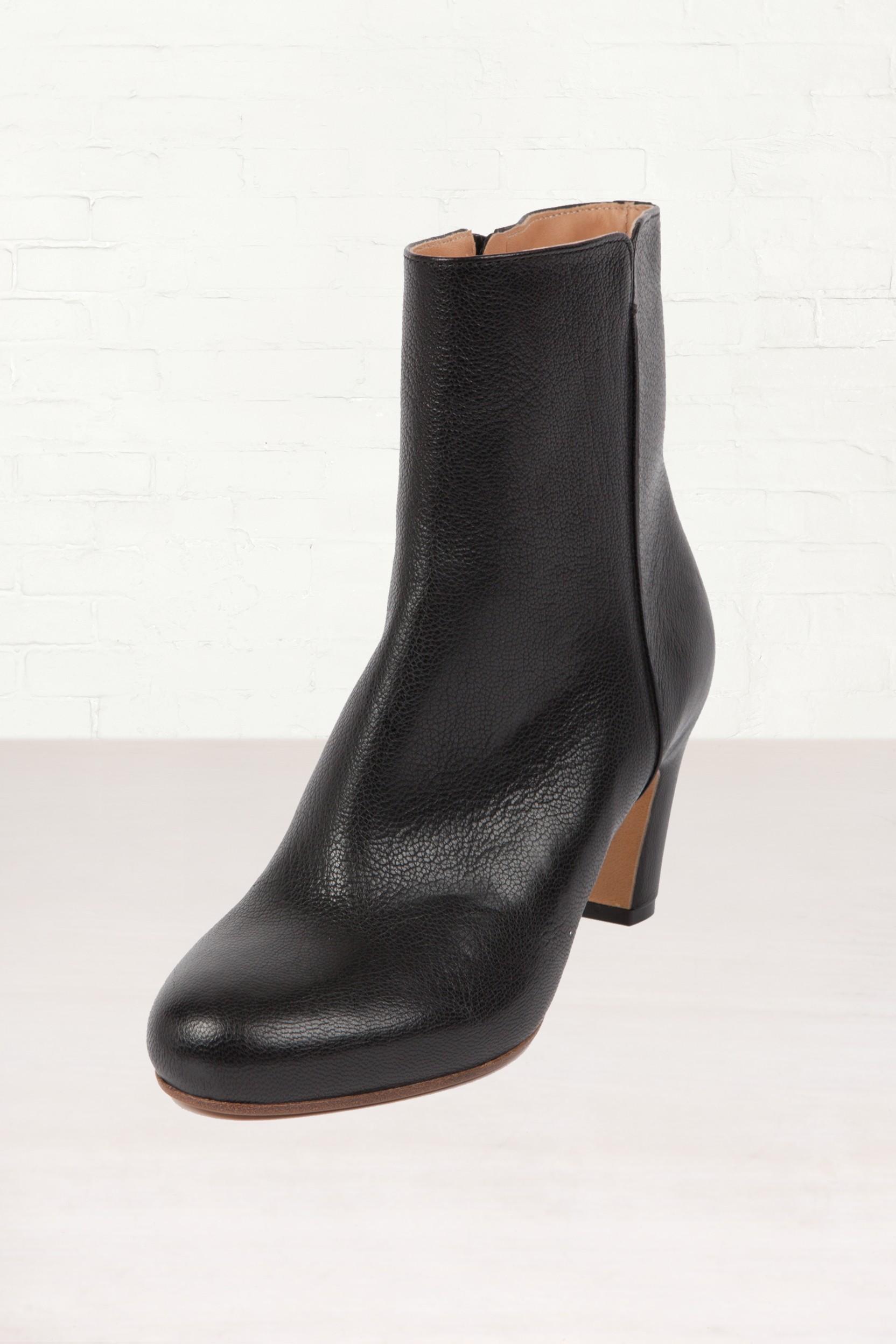 maison margiela maison martin margiela low heel leather