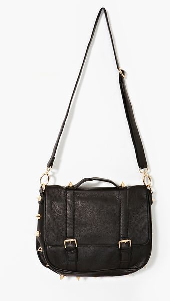 Nasty Gal Empire Spike Satchel - Lyst
