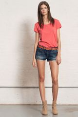 Rag & Bone Mila Short  - Lyst