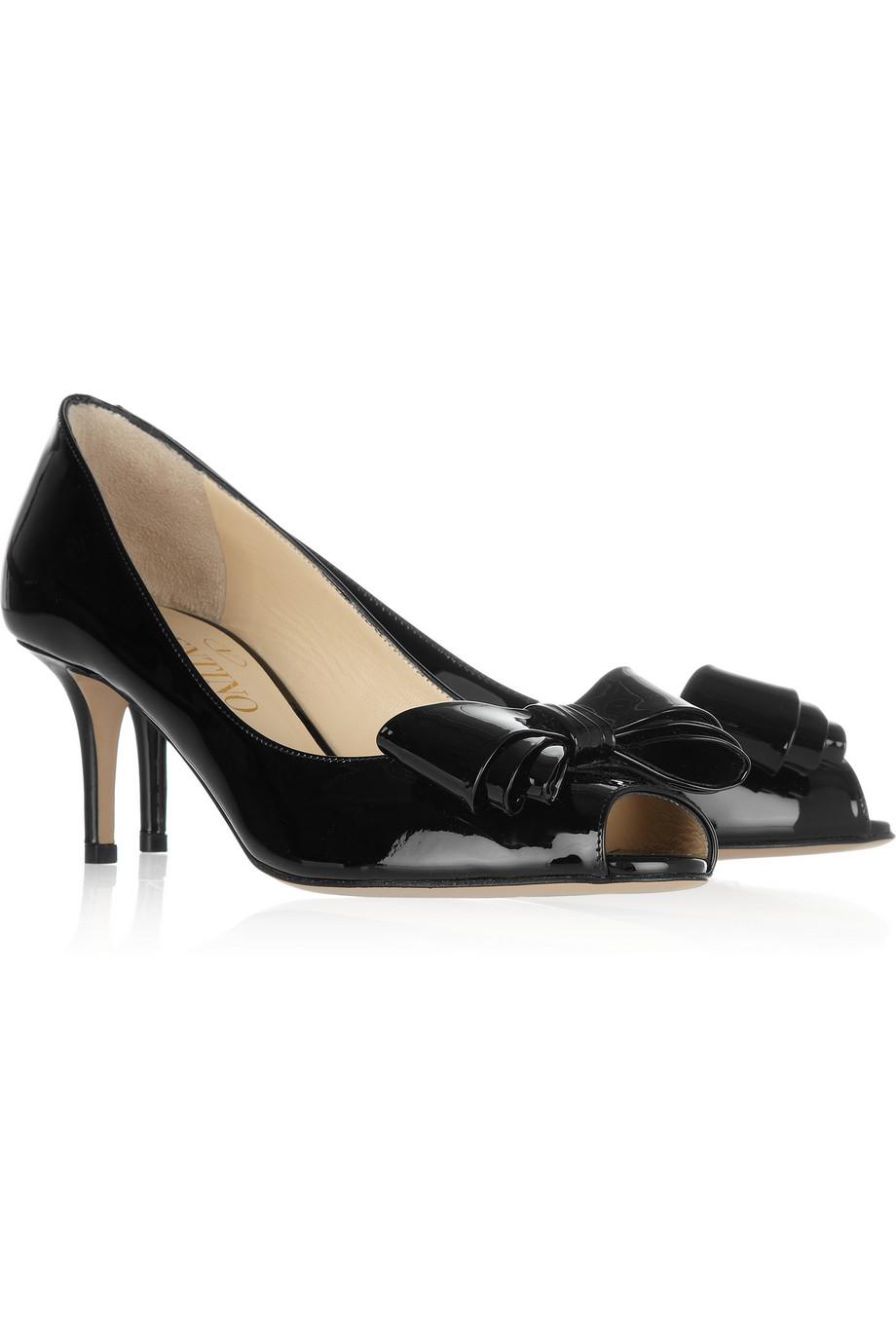 Valentino Garavani Dollybow Pumps - Red - Valentino Heels ...