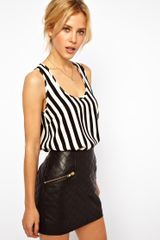 ASOS Collection Asos Vest in Stripe Print - Lyst