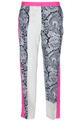 By Malene Birger Mixed Print Trouser - Lyst