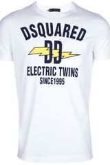 DSquared2 Print T-shirt - Lyst
