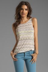 Ella Moss Feather Tail Tank - Lyst