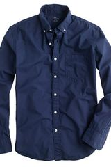 J.Crew Slim Secret Wash Garmentdyed Shirt - Lyst