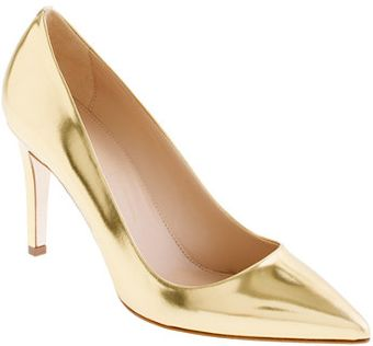 J.Crew Preorder Everly Mirror Metallic Pumps - Lyst