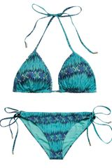 Matthew Williamson Escape Snake Faze-Print Bikini - Lyst