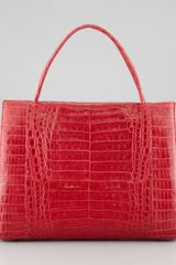 Nancy Gonzalez Croc Tote Bag - Lyst
