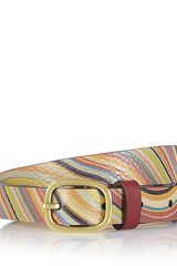 Paul Smith Swirl Waist Belt - Lyst