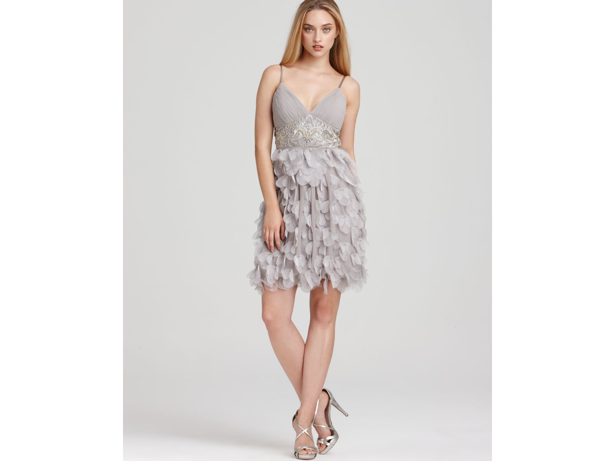 Sue Wong Short Beaded Cocktail Dresses
