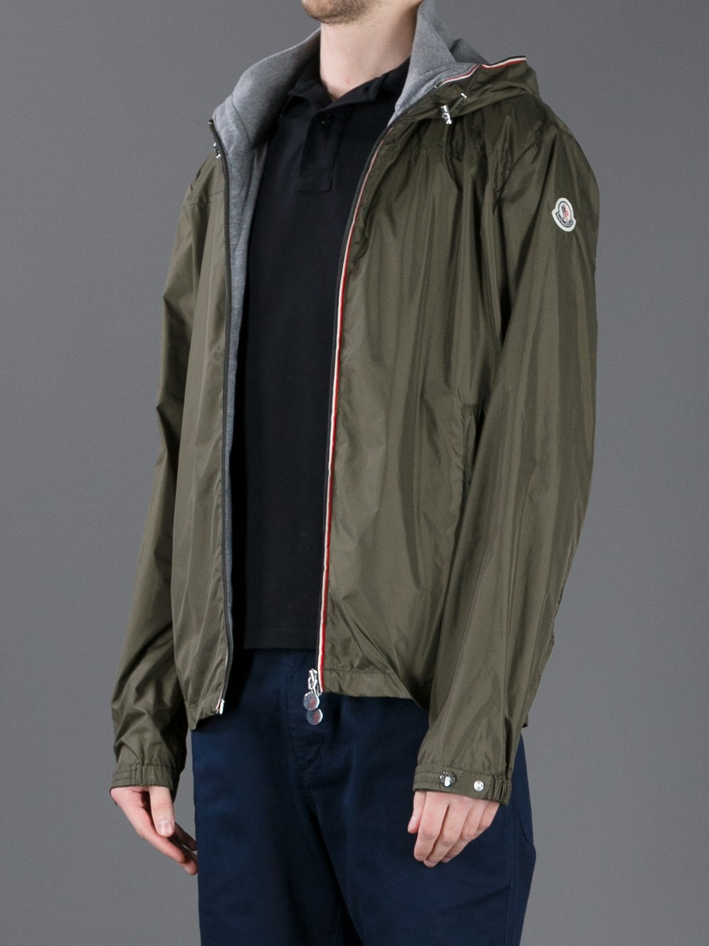 mens moncler windbreaker