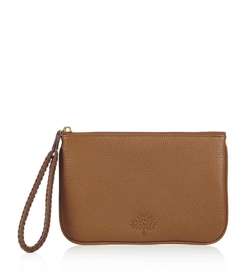 mulberry effie zip pouch in lyst