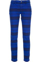 See By Chloé Printed Slim Fit Jean - Lyst