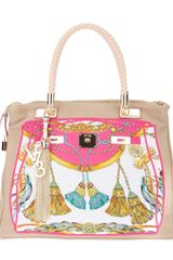 V73 Printed Shopper - Lyst