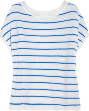 Duffy Striped Cashmere Top - Lyst