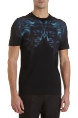 Givenchy Rams Head Tee in Blue for Men (black) - Lyst