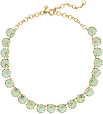 J.Crew Venus Flytrap Goldtone Crystal Necklace - Lyst