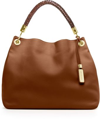 Michael Kors Large Skorpios Pebbled Shoulder Bag - Lyst