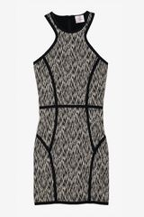 Parker Graphic Print Stretch Tank Dress - Lyst