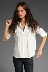 Rag & Bone The Victorian Shirt - Lyst