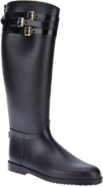 Burberry Wellington Boot - Lyst