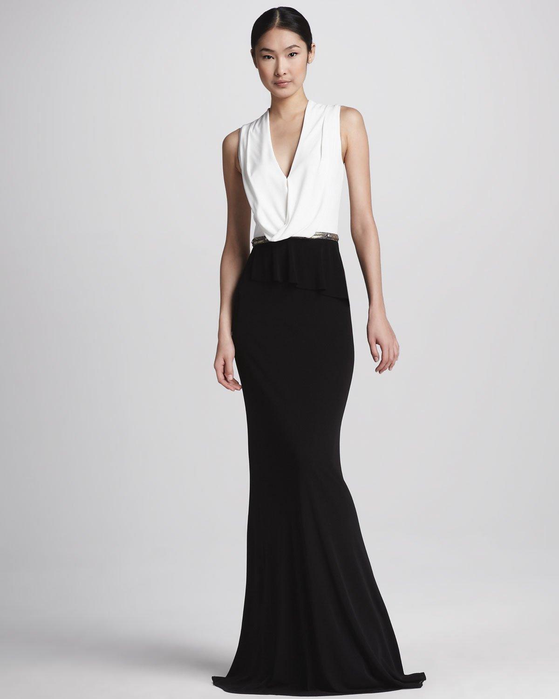 David Meister Black Evening Gown – fashion dresses