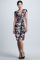 Lafayette 148 New York Wrapfront Knotted Dress  - Lyst
