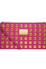 Michael by Michael Kors Zip Clutch - Lyst