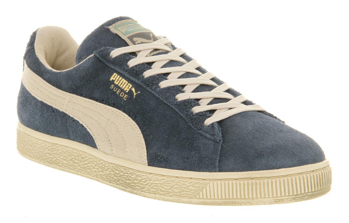 PUMA Suede Classic Denim White Vintage in Blue for Men - Lyst 3454735e4