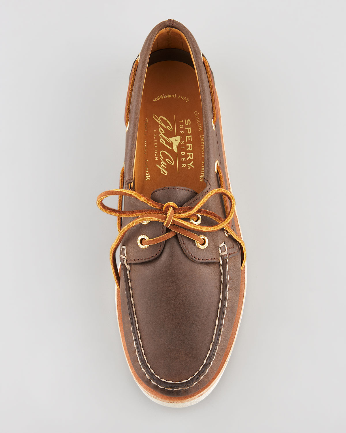 Sperry Gold Cup Bellingham Wingtip Shoes (For Men) |Sperry Gold