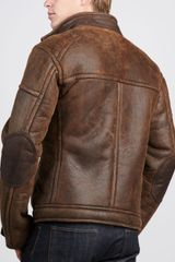 Ugg Refugio Shearling Jacket Chocolate in Brown for Men (CHOCOLATE) - Lyst