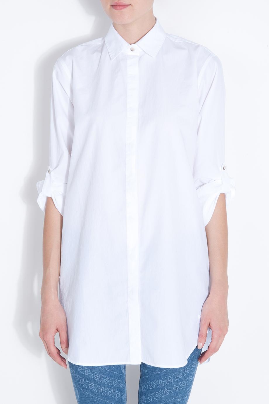 849a711d035da Lyst - M.i.h Jeans Oversize White Shirt in White