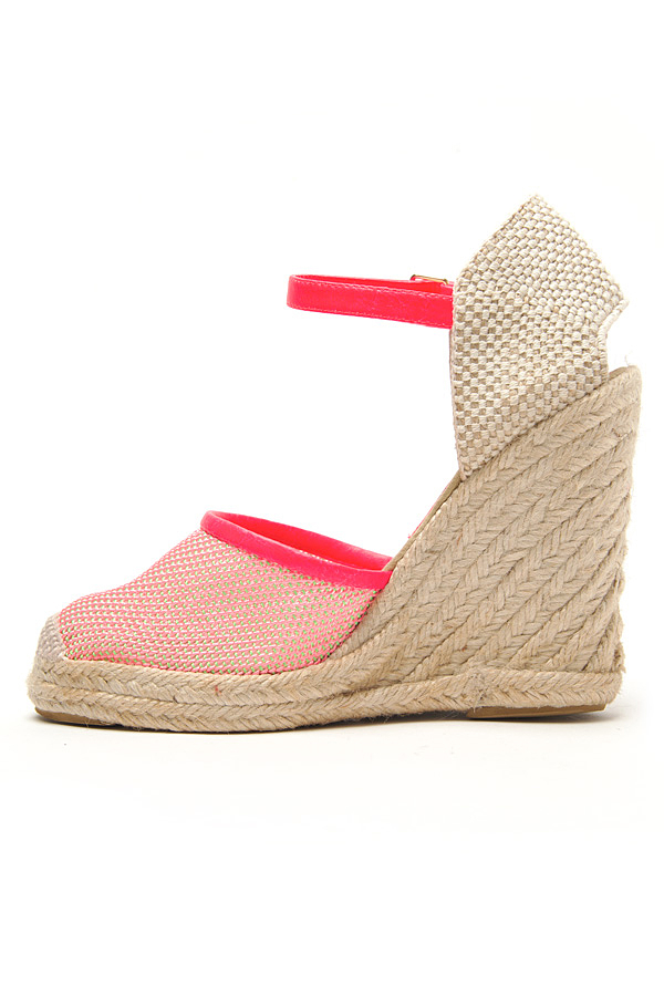 100% guaranteed for sale discount enjoy Stella McCartney Mesh Espadrille Wedges online cheap online cheap online store buy cheap amazing price KwLwiZIk