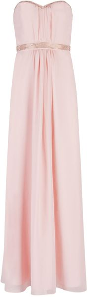 Ted Baker Foelee Gathered Stud Maxi - Lyst