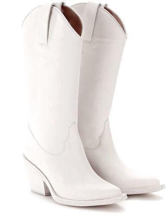 Acne Brush Cowboy Boots - Lyst