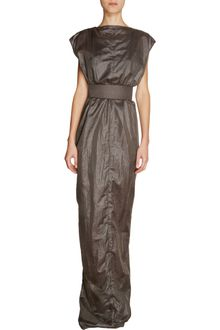 Rick Owens Cap Sleeve Long Dress - Lyst