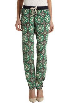Sea Circle and Hearts Printed Trousers - Lyst