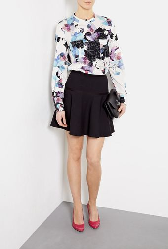 RED Valentino Peplum Full Skirt - Lyst