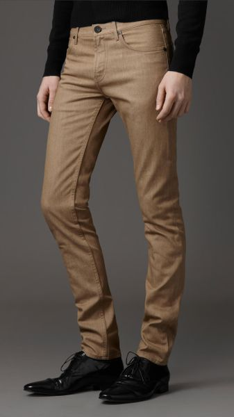 Burberry Shoreditch Skinny Fit Jeans in Brown for Men (trench)